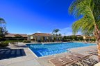 Gated private community pool in Roripaugh Hills in Temecula