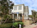 Exterior to walkway of townhomes in Sailhouse Corona Del Mar CA