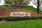 Marquee and entrance sign to San Joaquin Hills, Laguna Niguel CA