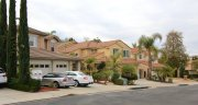 Street view and homes in San Joaquin Hills, laguna Niguel CA