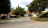 Culdesac of homes in Siena, Laguna Niguel CA
