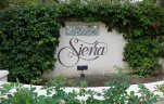 Marquee and entrance sign to Siena, Laguna Niguel CA