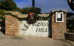 Marquee and entrance sign to Spyglass Hill Corona Del Mar CA