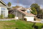 Side view of remodeled home in Stratford Ridge, Laguna Hills CA