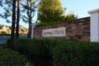 Front marquee for Summit Park Anaheim Hills CA