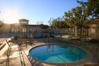 Community pool and spa area in Summit Park Anaheim Hills CA