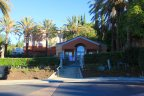 Common building in townhome community of Summit Renaissance Anaheim Hills CA