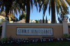 front entrance for the community of Summit Renaissance