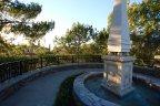 Private fountain and view area in Tesoro Villas Newport Coast CA