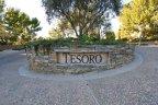 Marquee at entrance to Tesoro Villas Newport Coast CA