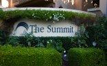 Sign at entrance to The Summit Newport Coast CA