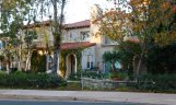 Front exterior of private townhome in Trovare Newport Coast CA