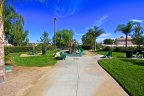 Park and playground in Vail Creek in Temecula