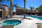 Spa and swimming pool area in Viscaya Lake Elsinore CA