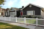 One story cape cod style home in Westcliff, Newport Beach CA