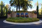 Fountains gates and entrance to Ziani Newport Coast CA